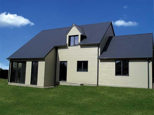 pour la construction de maison en bois en basse normandie. Black Bedroom Furniture Sets. Home Design Ideas